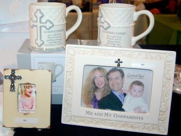See our Specialty Gift Gallery.  They say don't get them anything but will cherish this gift forever.