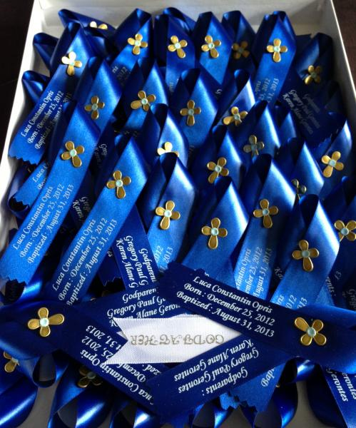 Royal Blue with Gold Cross Matyrika