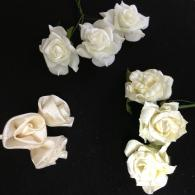 choice of ivory flowers