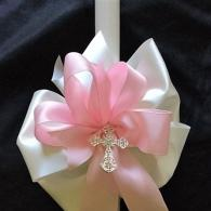 White 24 inch candle